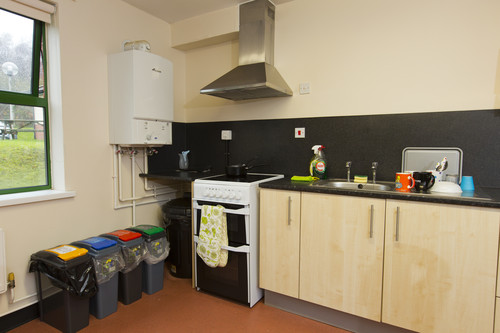 a clean and tidy kitchen